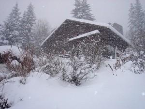 Histoire pour le KT - Chalet sous la neige