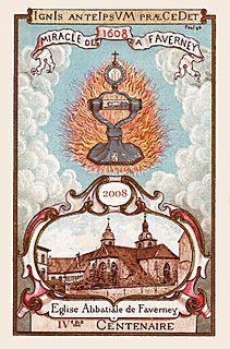 Image - Sainte Hostie de Faverney