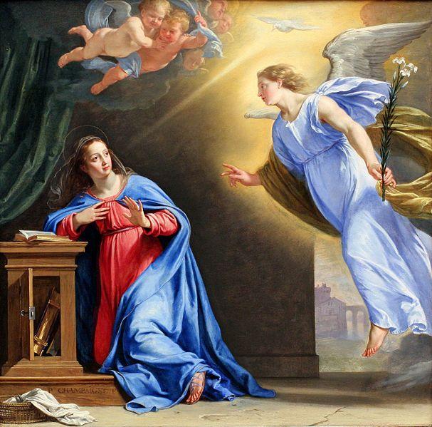 Poésie - L'ange Gabriel annonce la venue de l'Enfant-Jésus