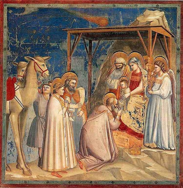 Récit pour le Catéchisme - Adoration des mages - Giotto