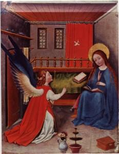 Poême à lire aux enfants - L'Annonciation faite à Marie