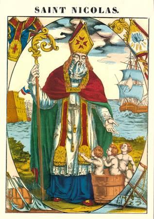 Chanson enfantine de Saint Nicolas