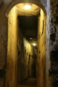 littérature jeunesse - Catacombe romaine