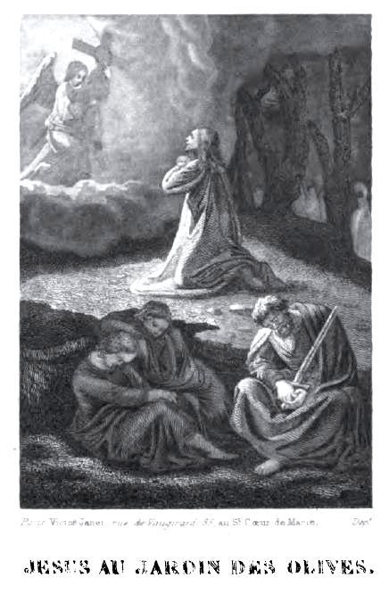 Chemin de croix pour les petits enfants - Jésus au Jardin des Oliviers