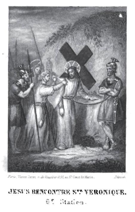 Chemin de Croix pour les jeunes - Jésus rencontre Ste Véronique