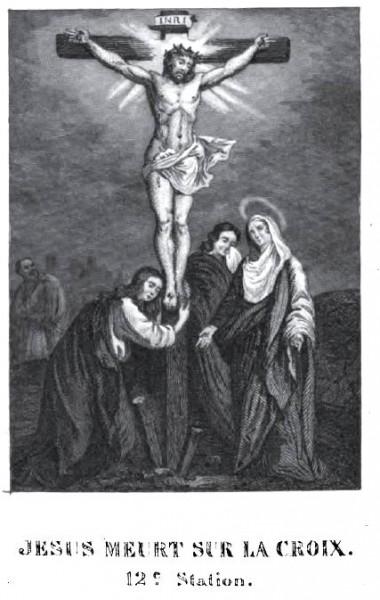 Passion méditée pour les jeunes - Jésus meurt sur la Croix