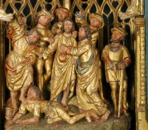 récit de la Passion - arrestation de Jésus au Jardin des Oliviers