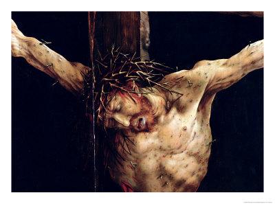 gruenewald matthias - Detail de la crucifixion