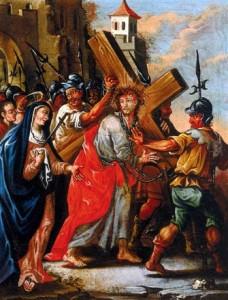 Evangile de la Passion - Jésus rencontre sa mère