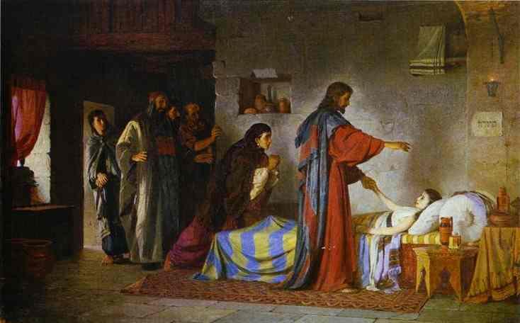 Récit du miracle de Jésus : la guérison de la fille de Jaïre