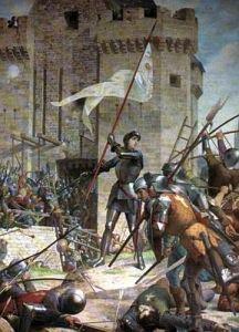 Vie de Saints pour le Caté - Sainte jeanne d'Arc au siège d'Orléans