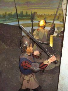 Littérature pour les enfants - scène musée Jeanne d'Arc - Soldat