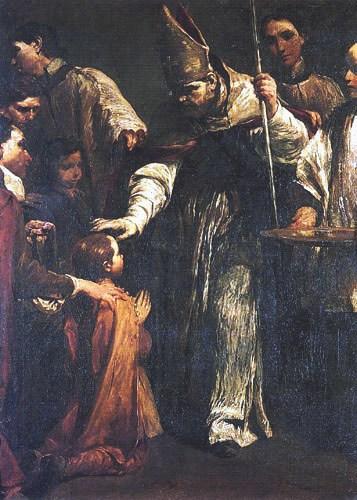 Giuseppe Maria Crespi - La confirmation