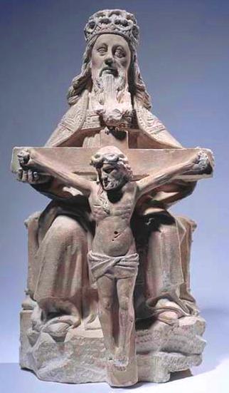 Récit de catéchisme - Statue de la Sainte Trinité