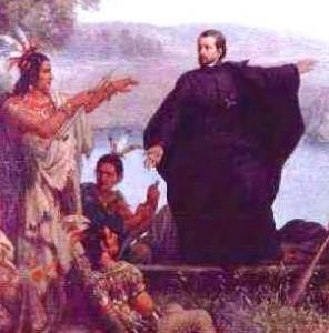 Histoire pour la fête de la Sainte Trinité - Jacques Marquette - missionnaire jésuite, mort au Canada à 37 ans.