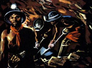 Histoire en ligne, à lire ou à raconter - mines d or de Johannesbourg