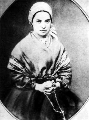 Don d'intelligence - Sainte Bernadette - portrait