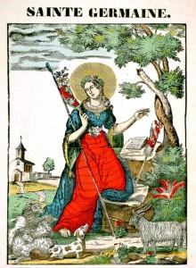 Image Sainte Germaine bergère