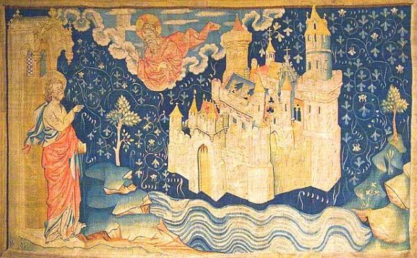 La nouvelle Jérusalem - Tapisserie d Angers - l 'Apocalypse de Saint Jean