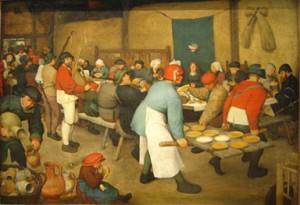 Bruegel - repas de noce