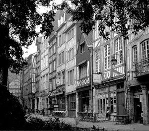 Echoppe du Moyen-Age à Rouen