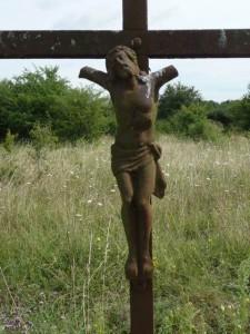 Outrage au Christ - calvaire détruit