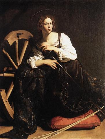 Sainte Catherine d'Alexandrie - Histoire pour les Catherinettes