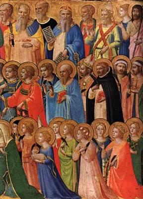 Histoire pour illustrer la Toussaint - Communion des saints