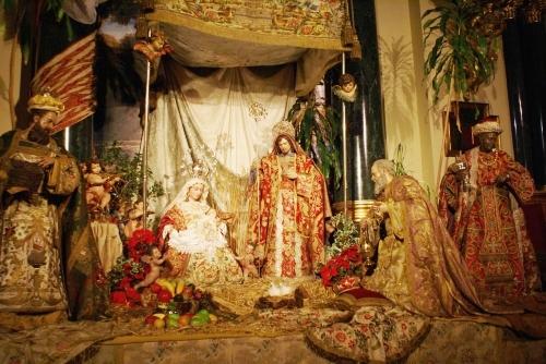 Crèche de l'Eglise de San Ginés - Espagne - Miracle eucharistique de Noël