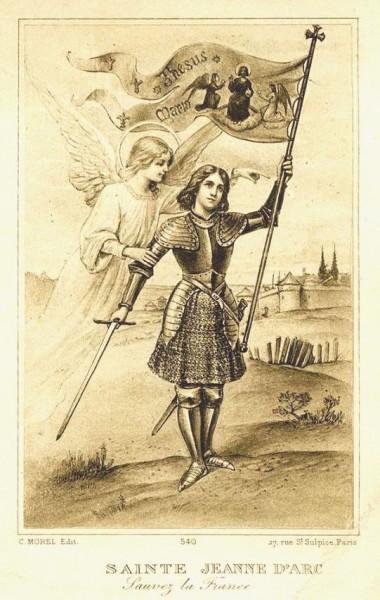 Image pieuse - Sainte Jeanne d'Arc