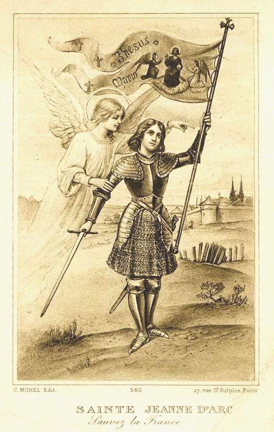 Du 22 au 30 Mai Neuvaine à Ste Jeanne d'Arc pour la France!!! Image-pieuse-Sainte-Jeanne-dArc
