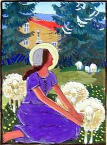 Jeanne la bergère de Domrémy - 600e anniversaire de sa naissance