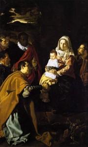 L'Adoration des mages - Velasquez - musée du Prado à Madrid - Récit d'un miracle de Noël