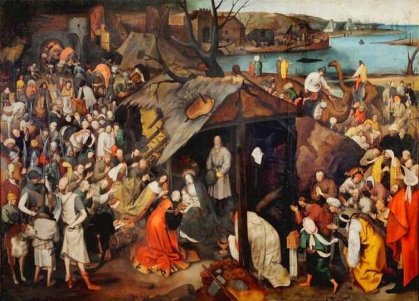 Adoration des mages - BRUEGHEL Jan le Jeune (dit) - récit de l'épiphanie pour le catéchisme