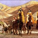 Fête de l'Epiphanie - Caravane des Rois Mages - 1894 - récit pour les enfants
