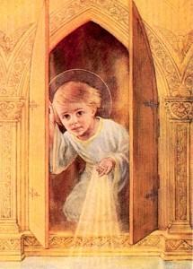 Le petit frère - Jésus Enfant dans le tabernacle