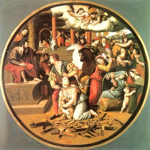 Décapitation de Sainte Agnes