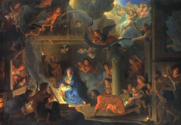 Nativité - Charles Lebrun - récit pour la préparation à la première communion