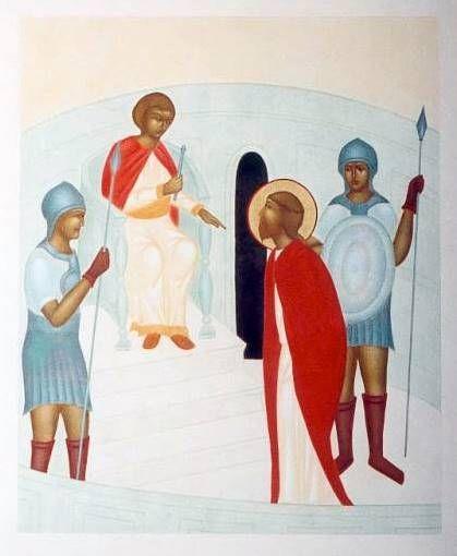 Chemin de croix pour les jeunes - I. STATION. Jésus est condamné à mort