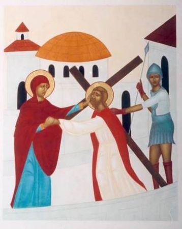 Chemin de croix pour les enfants - Jésus rencontre Sa Mère