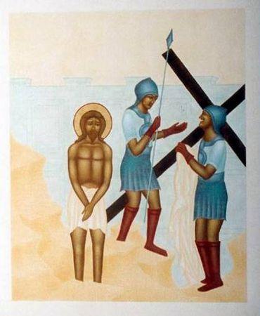 Récit de la Passion pour le KT - Jésus est dépouillé de ses vêtements