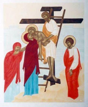 Méditations pour les jeunes sur le chemin de croix - Jésus est déposé de la Croix