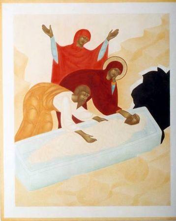 Jésus est déposé au tombeau - Chemin de Croix du Vendredi Saint pour les enfants
