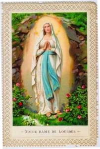 Récit des apparitions de Lourdes à Sainte Bernadette
