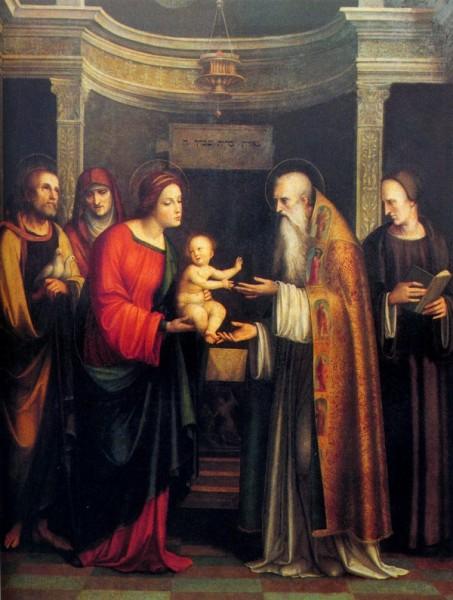 Présentation de l'Enfant-Jésus au temple et Purification de la Vierge