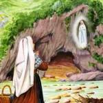 Petite histoire des apparitions de la Sainte Vierge à Lourdes