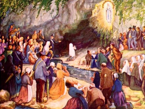 """Récit pour les enfants - La Vierge dit à Bernadette : """"Je suis l'Immaculee Conception"""""""
