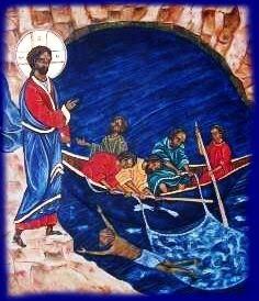 """Résultat de recherche d'images pour """"Icône Copte de la pèche miraculeuse à Tibériade"""""""