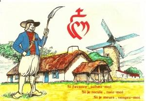 histoire sainte pour le catéchisme : Paysan Vendée