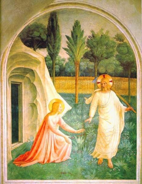 Bonheur de la fête de la Résurection - Pâques - Fra Angelco